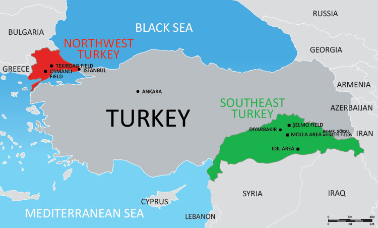 TAT Map Turkey 750W
