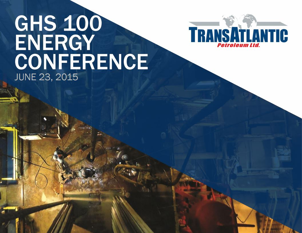 GHS 100 Energy Conference Cover